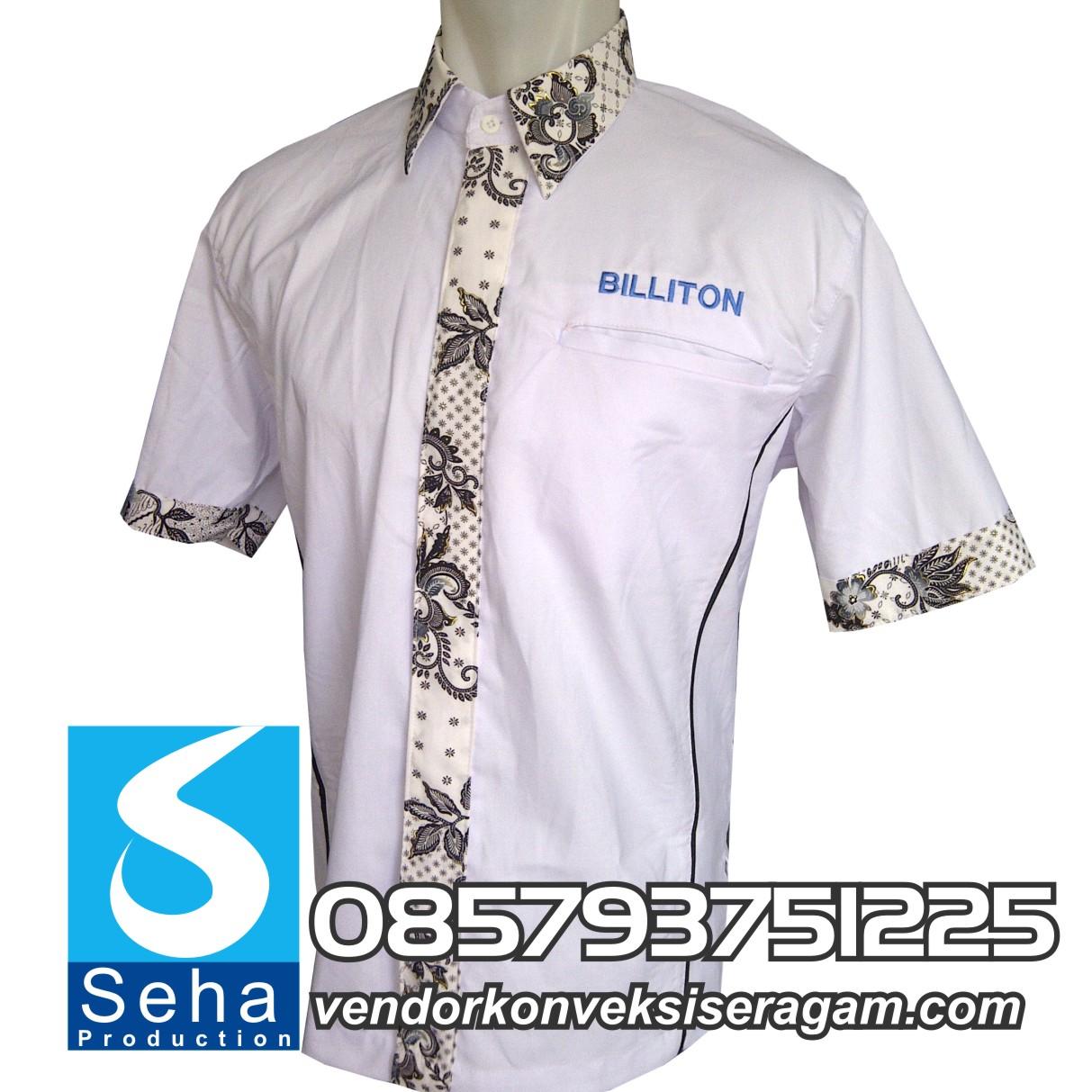 vendor seragam kombinasi Batik