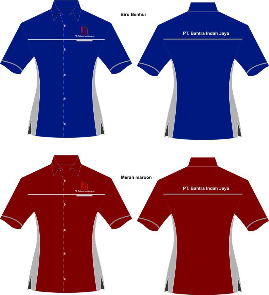 desain kemeja kerja